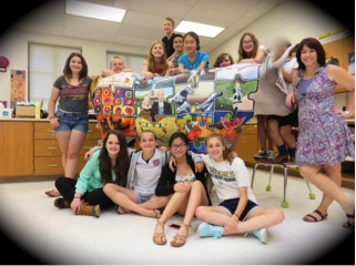 Timberlane Middle School – Donna Cariola and Student Artists